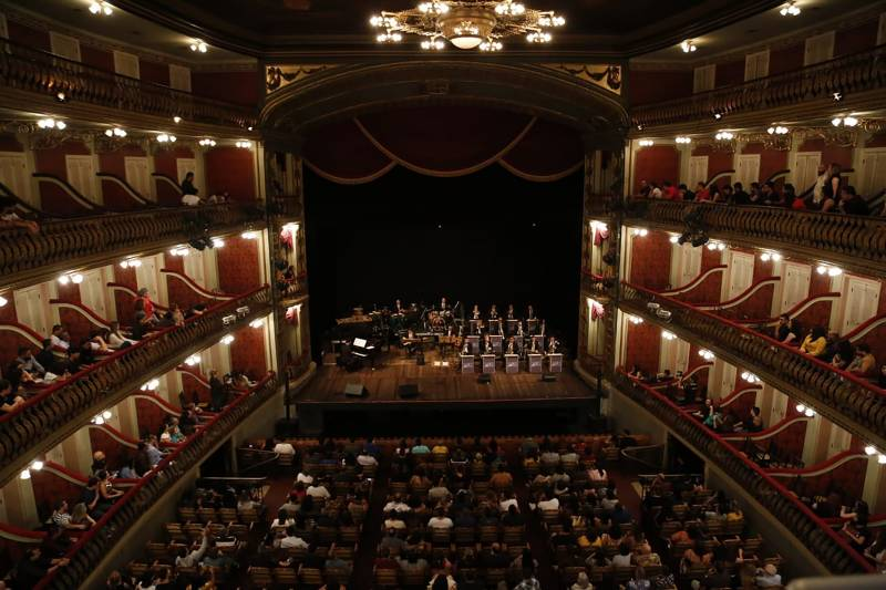 Secult celebra 142 anos do Theatro da Paz e 115 anos de Waldemar Henrique